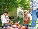 Sexy country girls Summer Brielle and Tasha Reign sharing