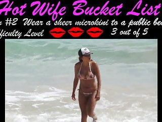 Hot wife challenge 2...