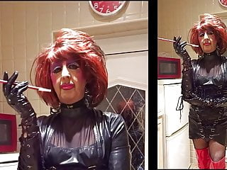Mandy 1960s model fetish housewife...