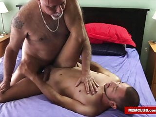 Barebacking his boi...