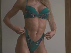fit girl with perfect body