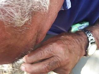 Fat Grandpa Gets Fucked