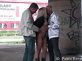 PUBLIC group SEX in the street Part 1