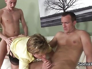 unfaithful british milf lady sonia presents her gigantic balHD Sex Videos