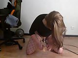Pathetic desperate sissy can't get a real man to fuck her