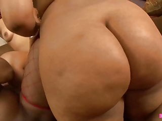 Rough big black women Lesbian Threesome