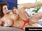 Curvy Cougar Deauxma Gets Pussy & Dick In Hot 3Way FuckFest!