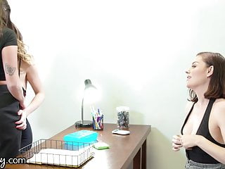GIRLSWAY Threesome's Fight To Get The Job With Karlee Grey