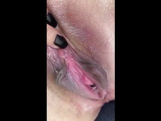 Close-up Squirting  MILF Pussy