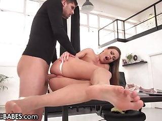 Tina kay gives the best footjobs...
