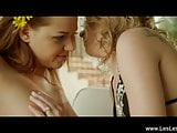 Beautiful Location Lesbian Love