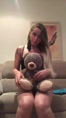 That bear you teddy suck funny seems me