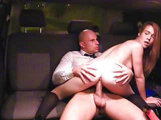 Hardcore Czech Teen video: VIPSEXVAULT -Czech Teen Alexis Hardcore Sex with Taxi Driver