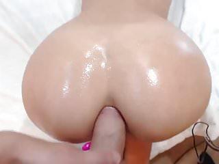Cock fucking hot round anal...