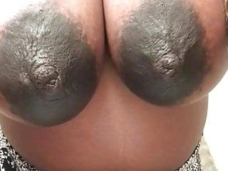 Big pregnant areolas...