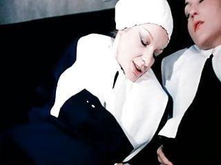 Scene of anal fuck nuns from retro movie