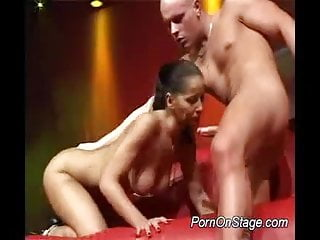 Nasty hard cock in mouth...