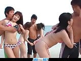 Subtitles - Outdoor orgy with beautiful japanese girls Kyouk