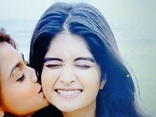 Bhavika Sharma Sexy Cop Cum and Spit tribute