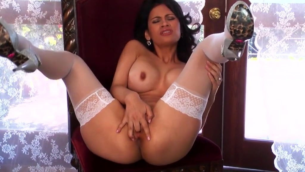 Arousing milf gets wild and horny