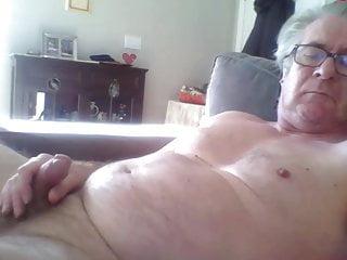 Handsome horny Grandpa