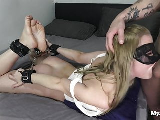 BDSM, hands tied, facefuck, fisting, golden shower, Mya Quinn