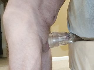 Fleshlight masturbation and cum
