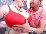 Super Sexy Sassy Latina Sinful Celeste Rides Studs Cock