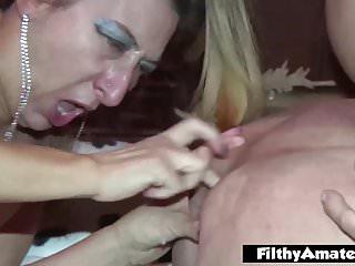 La più puttana del mondo Fanculo e sperma nel culo