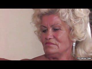 Granny effie gets pounded hard...