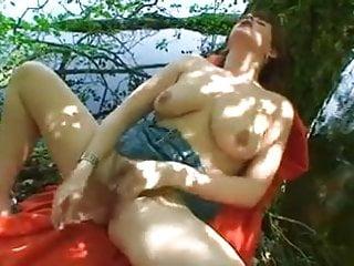 Betty Masterbating at the lake