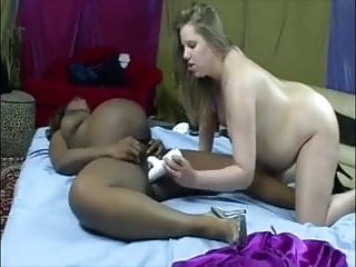 barefoot and pregnant lesbians ebony and white