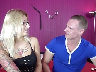 For hot blonde german milf jasmin...