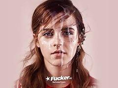 Emma Watson Cum Facial (fantasy)