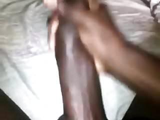 Cock releases cum...