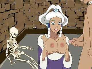 Spooky times 2 yue gets cum on tits...