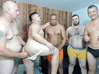Sex Group Alex Bear in action