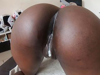Sex od zadu čiernou cicou
