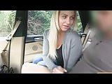 blonde riding talking  huge cum : )