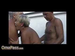 Granny sexual clips compilation...