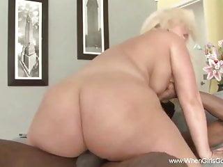 Big Ass Blonde Taking BBC – Hard Fuck