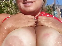 55Yo Blonde Wife