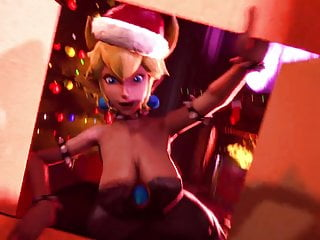 Cartoon Hd Videos video: BOWSETTE AND HER NEW YEAR'S GIFT HENTAI PORN