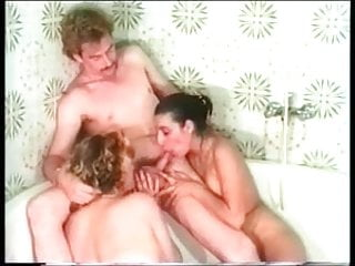 Classic Threesome in Bathroom