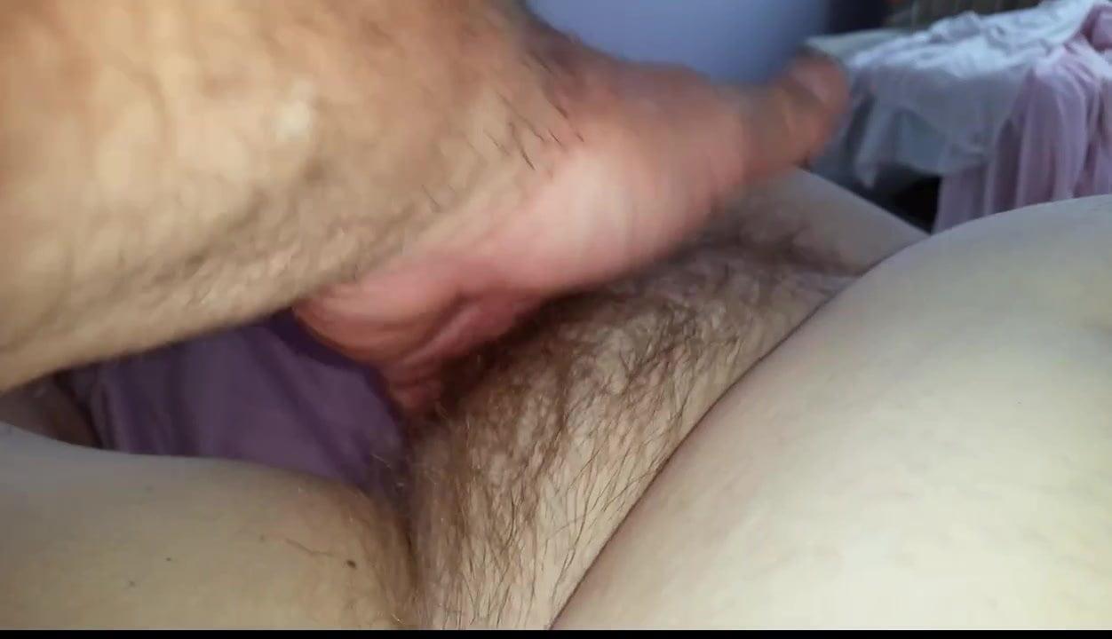 hairy vagina fingered orgasm