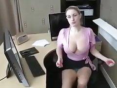 Helga At Office By Dr.fehad