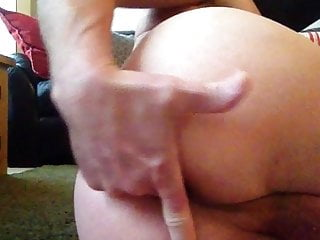 Pussy training to stretch...