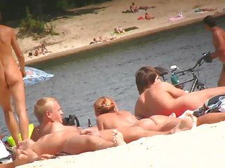 SPYING ON NAKED MEN AT THE NUDIST BEACH – VOL 10