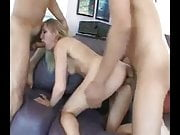 Blonde DP treshome love cum-baz
