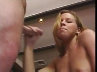 Handjob and big cum